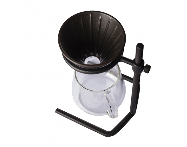 KINTO SLOW COFFEE STYLE BREWER STAND SET 2 CUPS, BLACK