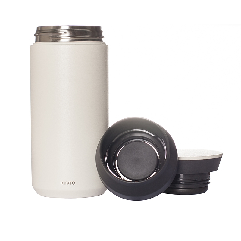 KINTO TRAVEL TUMBLER 350ml, WHITE