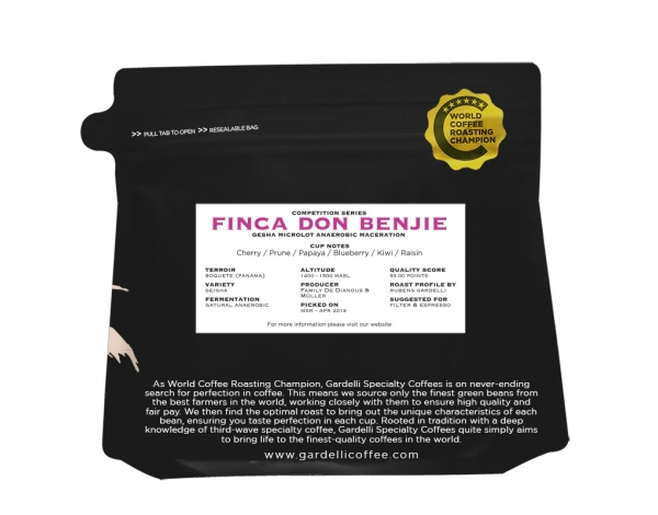 Finca Don Benjie Gardelli Coffees