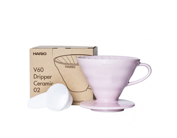 Brewer V60 02 - Ceramic Pink, Hario