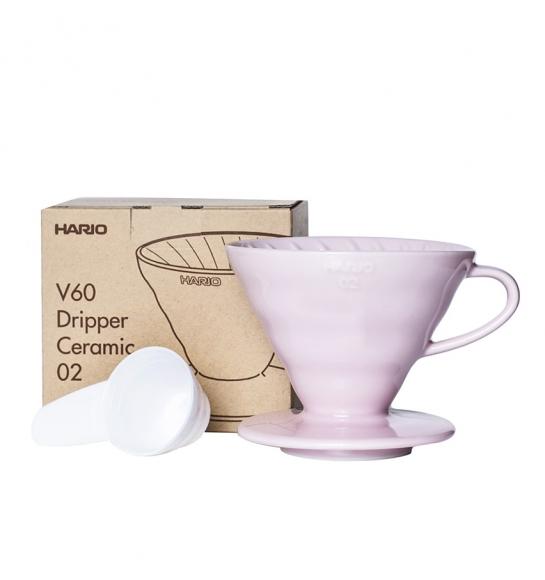 Brewer V60 02 - Ceramic Pink, Hario