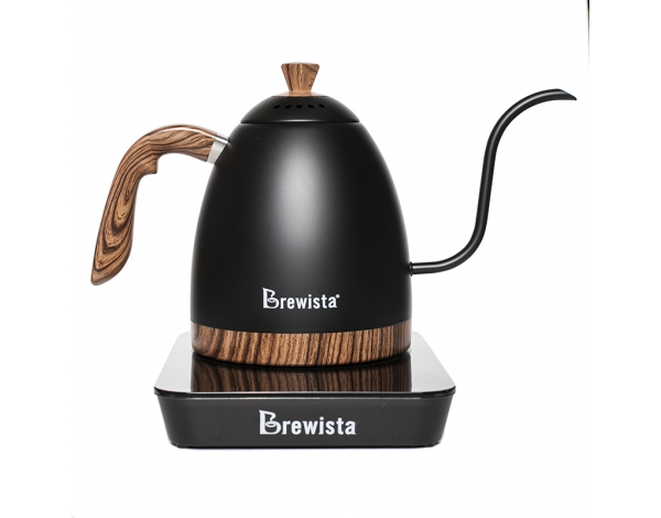 KETTLE ARTISAN VARIABLE TEMPERATURE - BLACK MATTE, BREWISTA