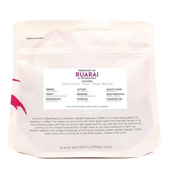 Ruarai AA (Kenya) - rear
