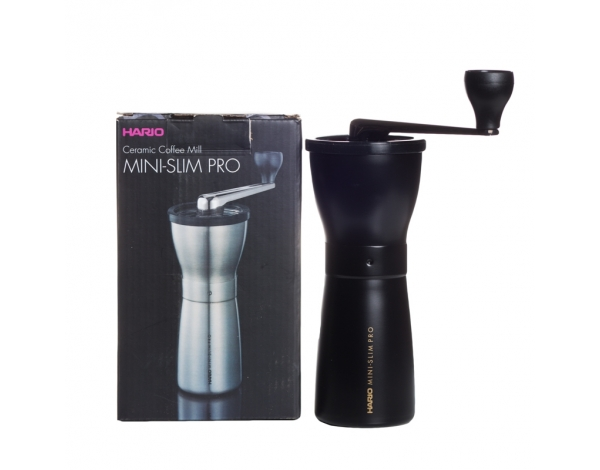 HARIO MINI SLIM PRO HAND GRINDER - BLACK