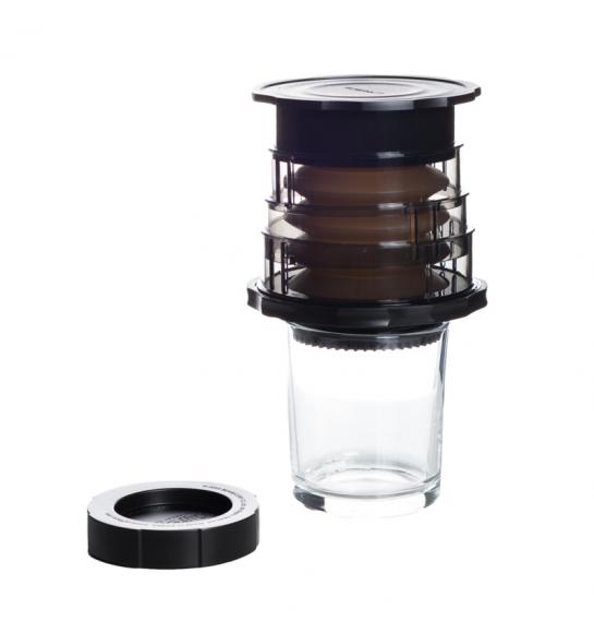 CAFFLANO KOMPACT COFFEE MAKER - BLACK